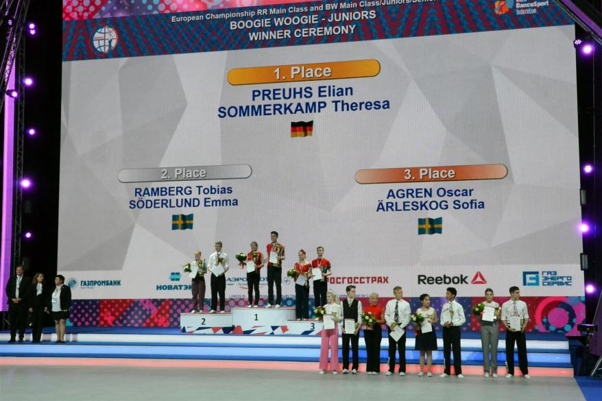 2017 Europameisterschaft in Moskau